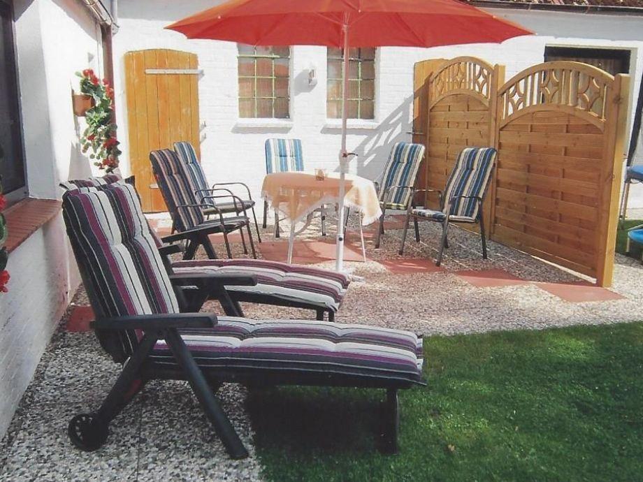Terrasse und Ruhezone