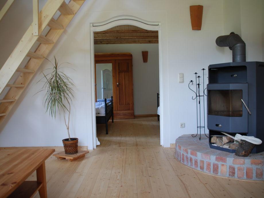 Kamin Im Wohnzimmer Kosten : Ferienwohnung Rosenhagen in der ...