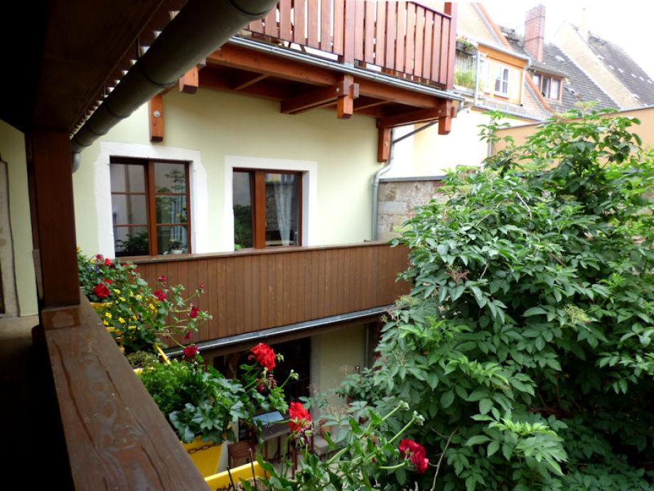 Balkon zum Innenhof