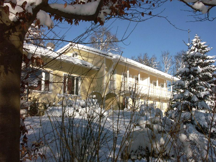 Allgäuvilla im Winter