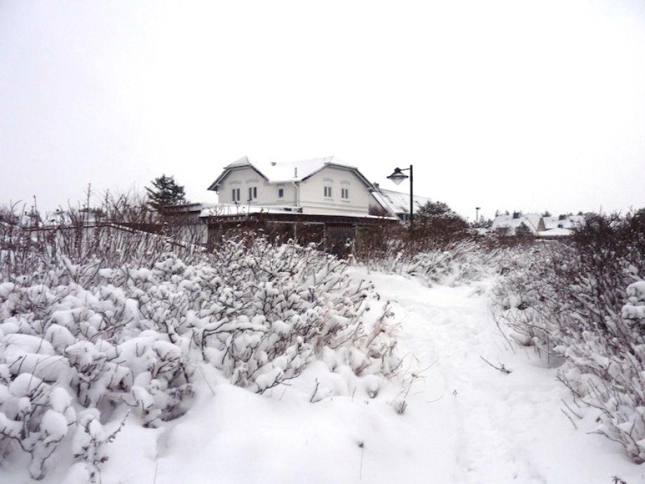 Das Ferienwhaus im Winter