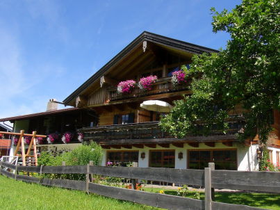 im Gästehaus Martin Hirschbichler