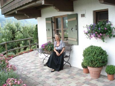 Your host Gertrud Bauhofer