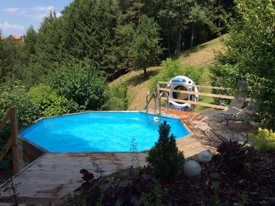 Pool in Sonnenlage