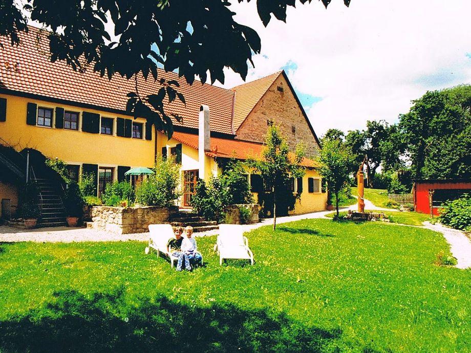 Das Ferienhaus Gersbronn - angebaut an unser Anwesen