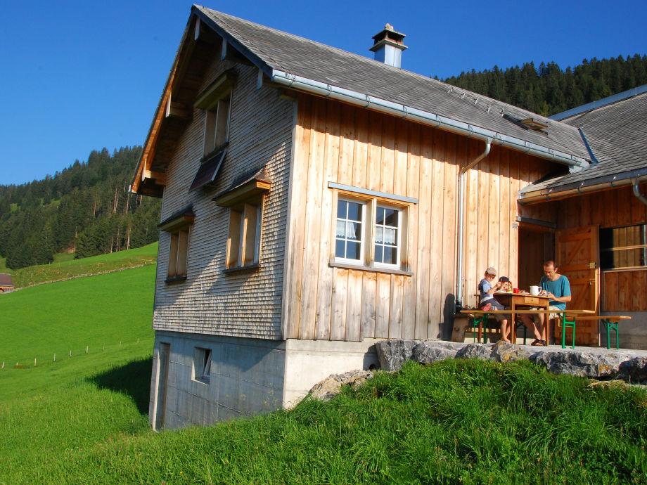 Unsere Berghütte in der Schweiz