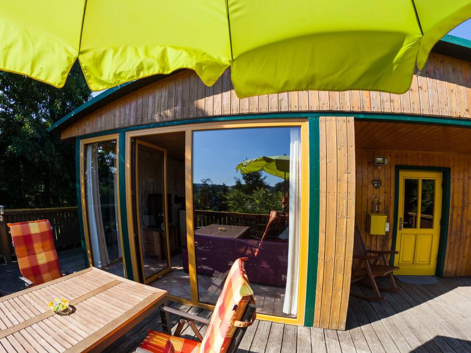 Außenaufnahme Lodge at the lake