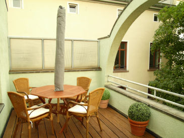 Apartment in the 'Schnoor' district - roof top