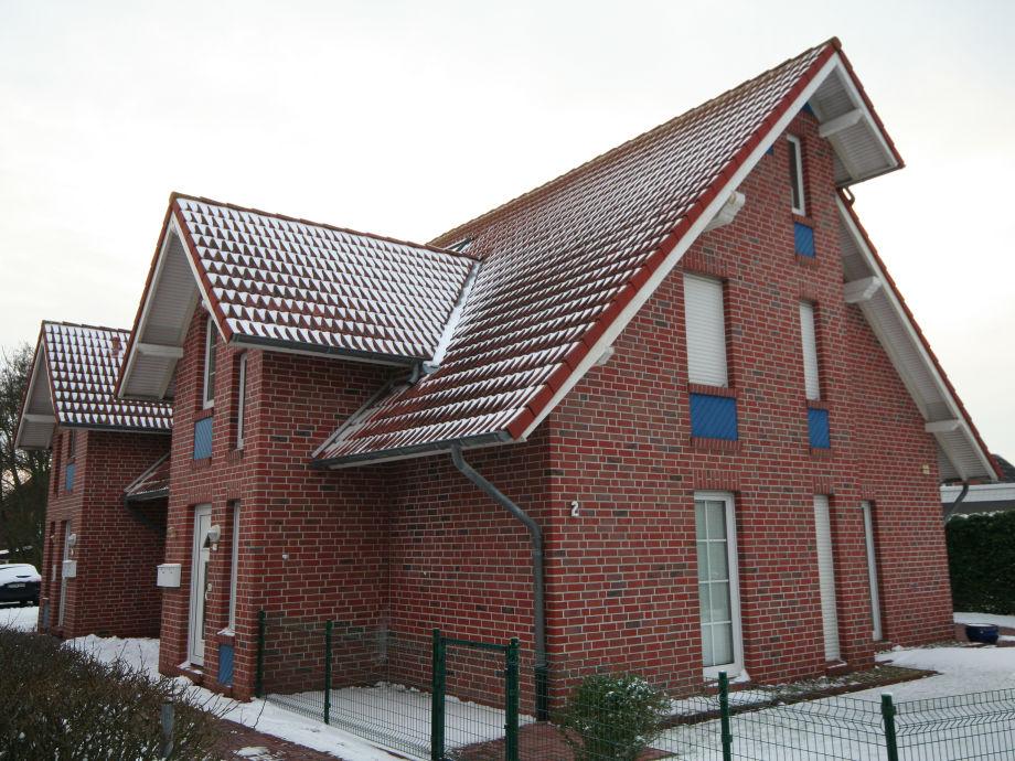 Frontansicht des Hauses