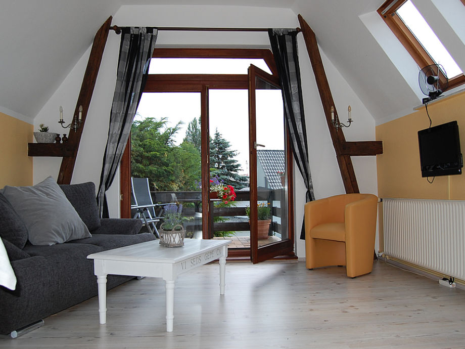 Der helle Wohnraum