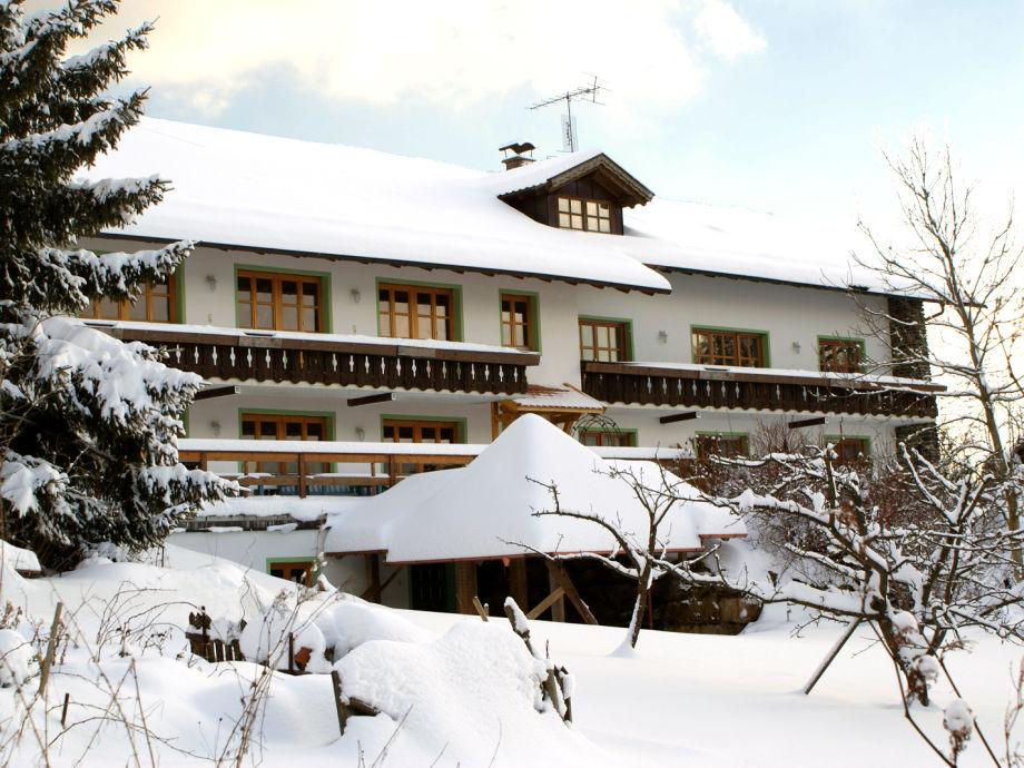Eingeschneit, Ski und rodeln gut im Bayerwald