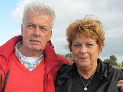 Ihr Gastgeber Hans und Rina Morssink