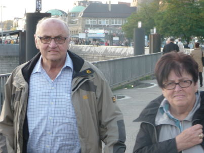 Ihr Gastgeber Alfons und Otti Deimel