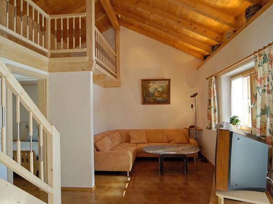 Ferienwohnung im haus lijsen mit galerie isarwinkel familie alexander und marianne lijsen - Haus mit galerie im wohnzimmer ...