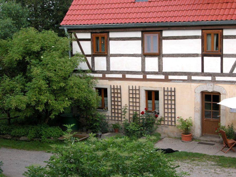 Haupthaus mit Ferienwohnung