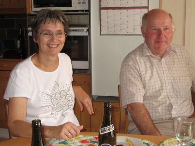 Ihr Gastgeber Birthe und Hans Schmidt