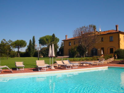 New restaured farm with pool, Etruscan Coast
