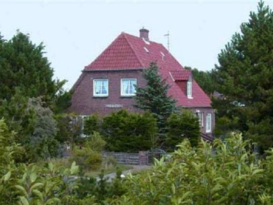 Außenaufnahme Haus Feriengruß in Norddorf auf Amrum