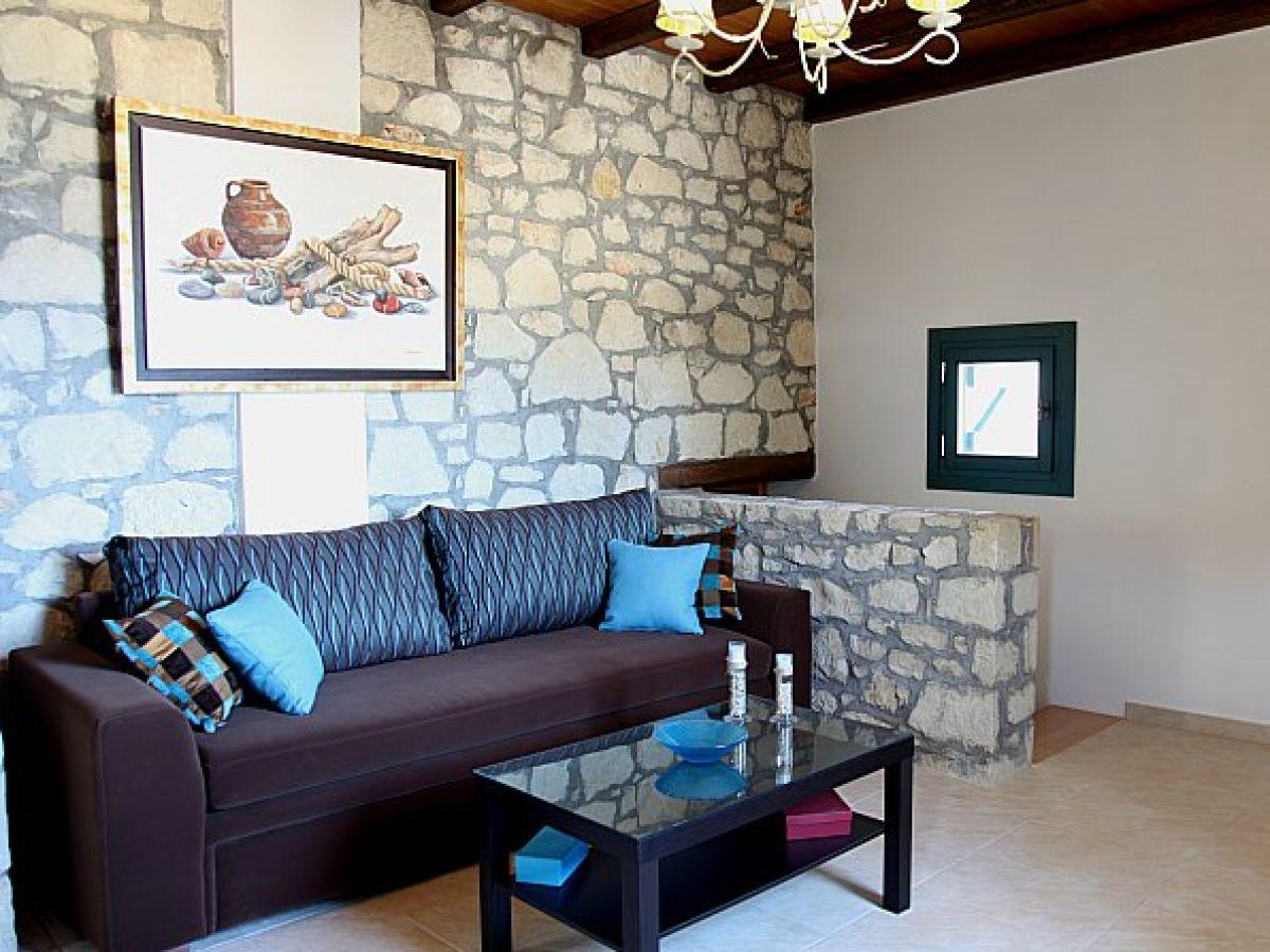 Ferienhaus stein villa lassithi firma stein villa for 8 qm wohnzimmer