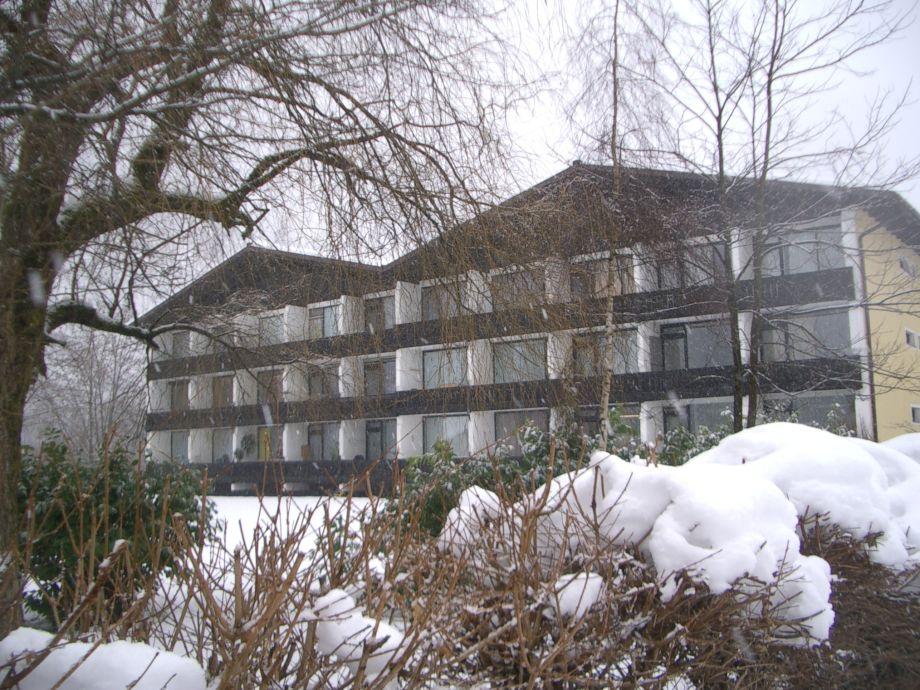 Haus in Winter