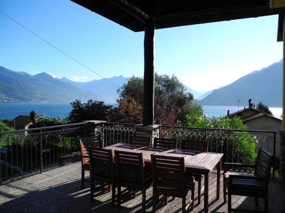 Veranda with lake view