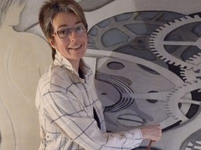 Your host Heike Schürmann