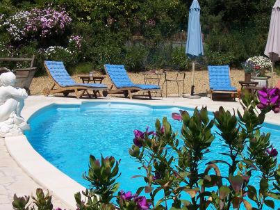 Villa Regina mit Privatpool, 500m vom Strand