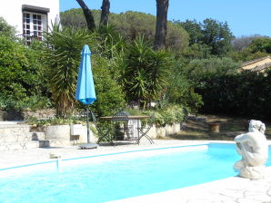 Ferienhaus St. Tropez 450m vom Strand