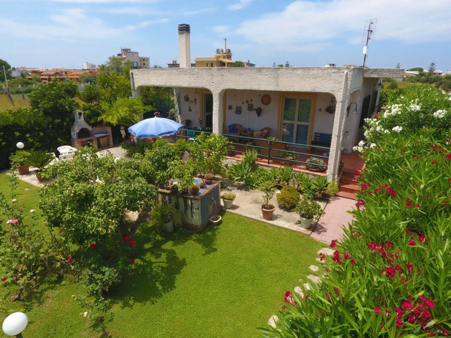 Die Villa Melograno in Sizilien