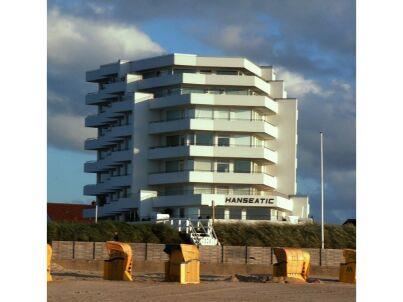 modern - direkte Strandlage - im Haus Hanseatic