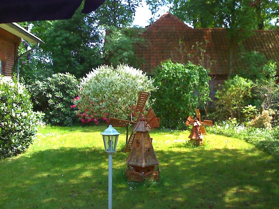 Ein Ausschnitt von unserem Garten