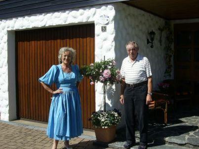 Ihr Gastgeber Hans und Rita Lenz