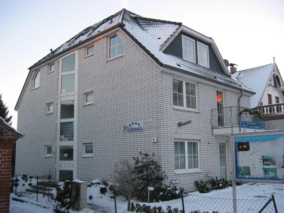 Haus Miramar von der Seite