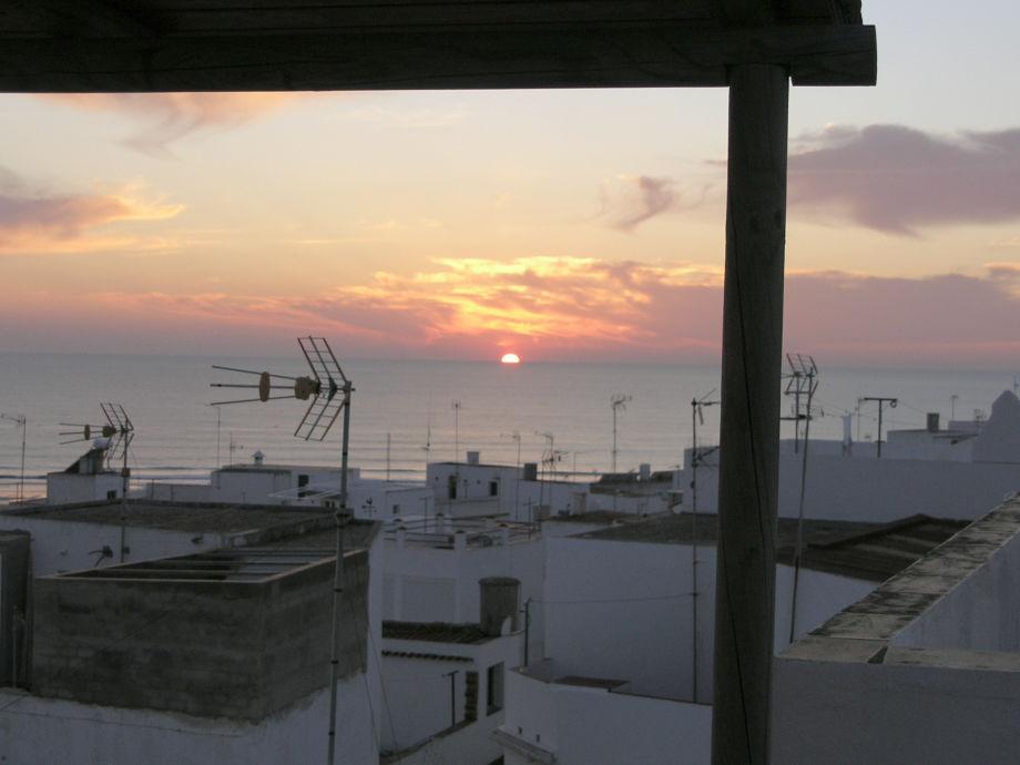 Blick von der Terrasse Casa Anik