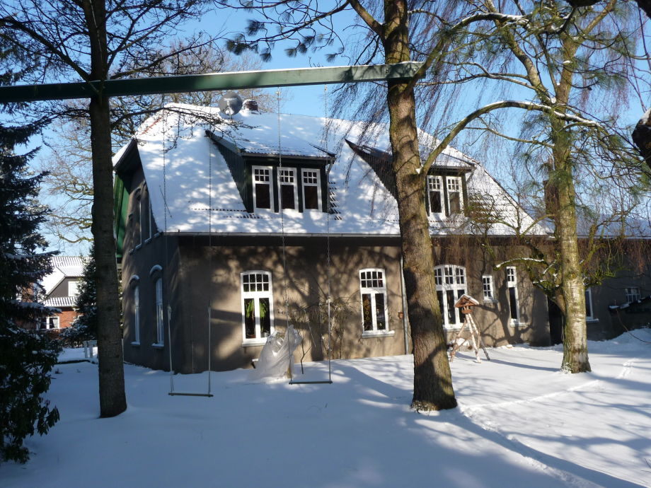 Haus - Winterbild
