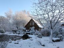 Ferienhaus Fachwerkhaus am Teich