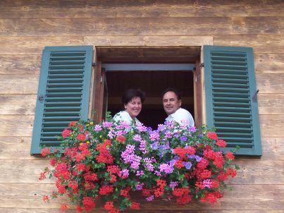 Ihr Gastgeber Isidor und Mathilde Scheurl