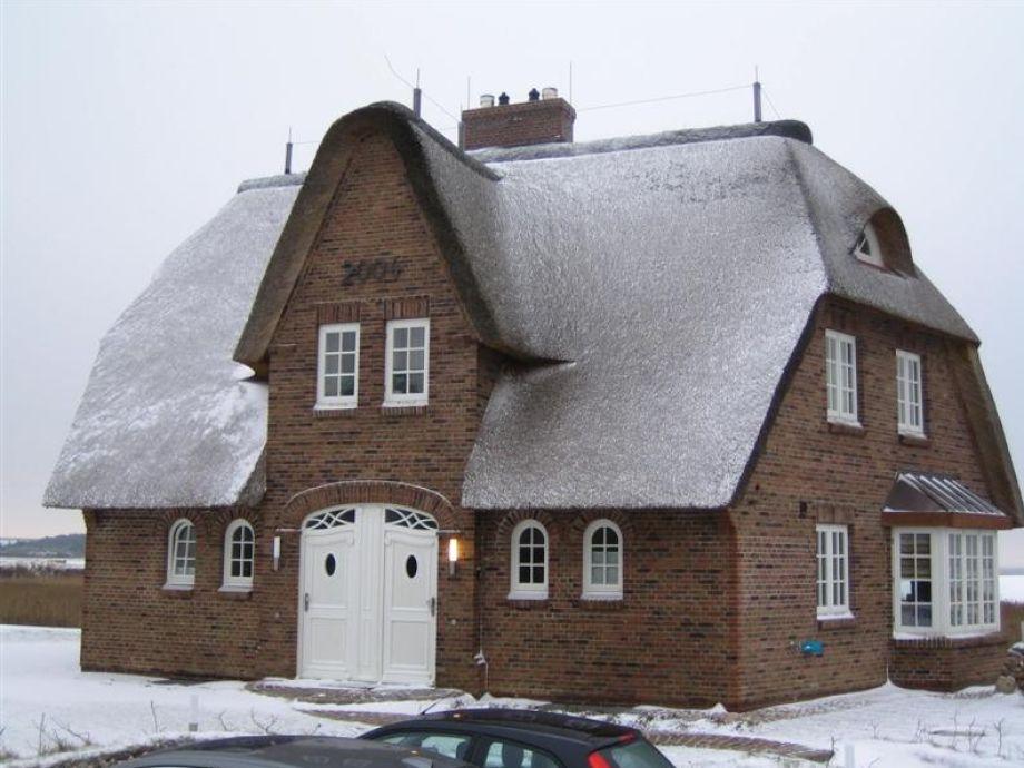 Gemütliche Schneeidylle auf Sylt