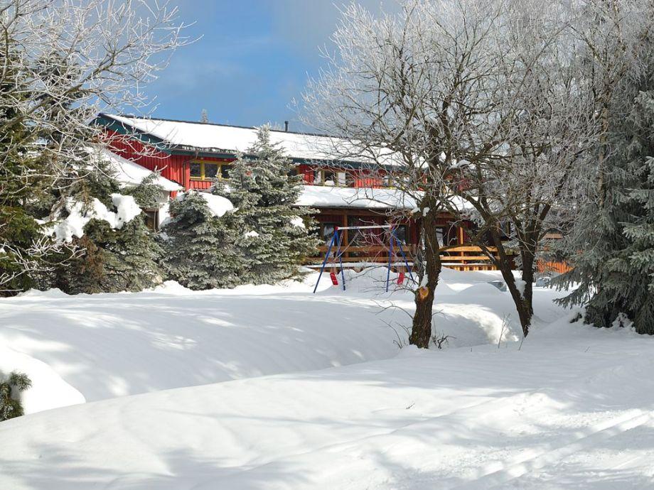 Ferienwohnung - Ansicht im Winter