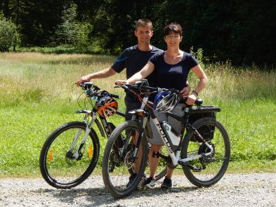 Ihr Gastgeber Thomas und Angelika Rummel