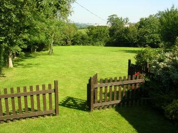 Landhaus Weide auf dem Twistgates Anwesen