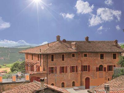 Brachetto in der Villa Pesce