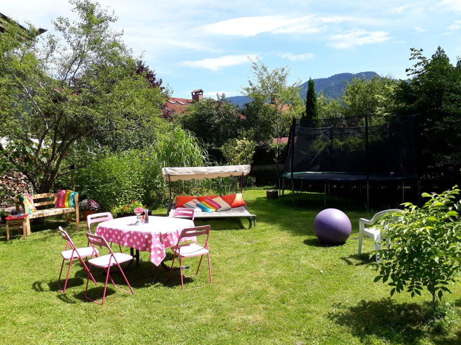 Garten von Fewo Isar