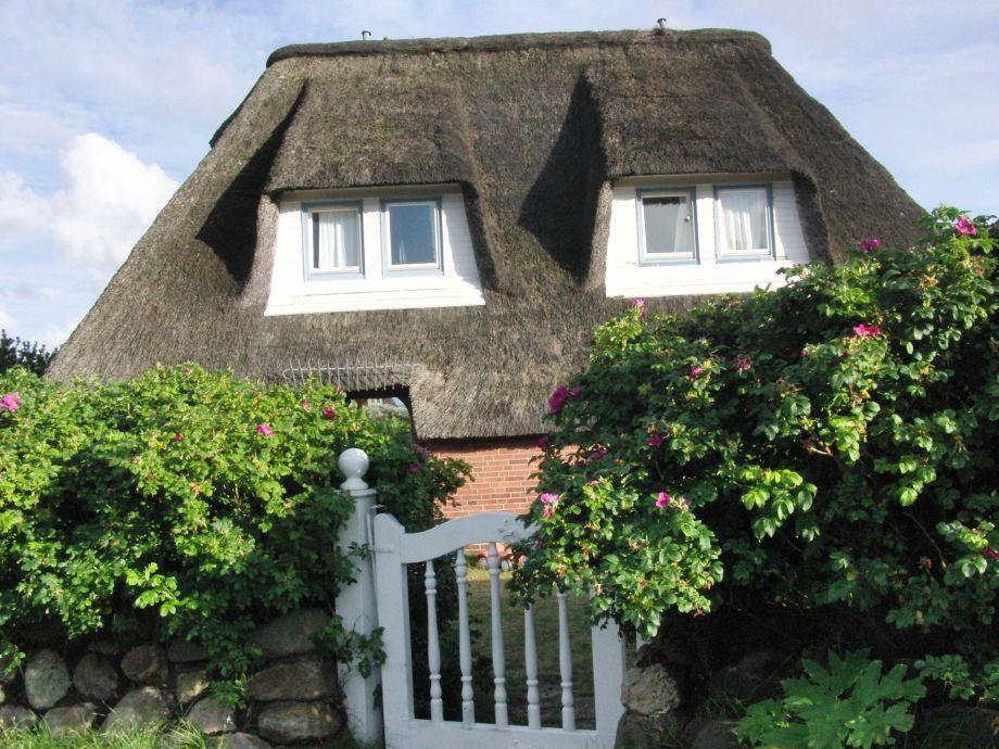 Reetdachdoppelhaus in Traumlage