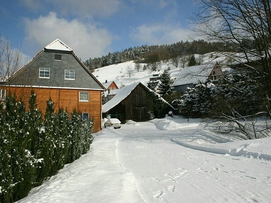 Wintertime at the Lindnerhof