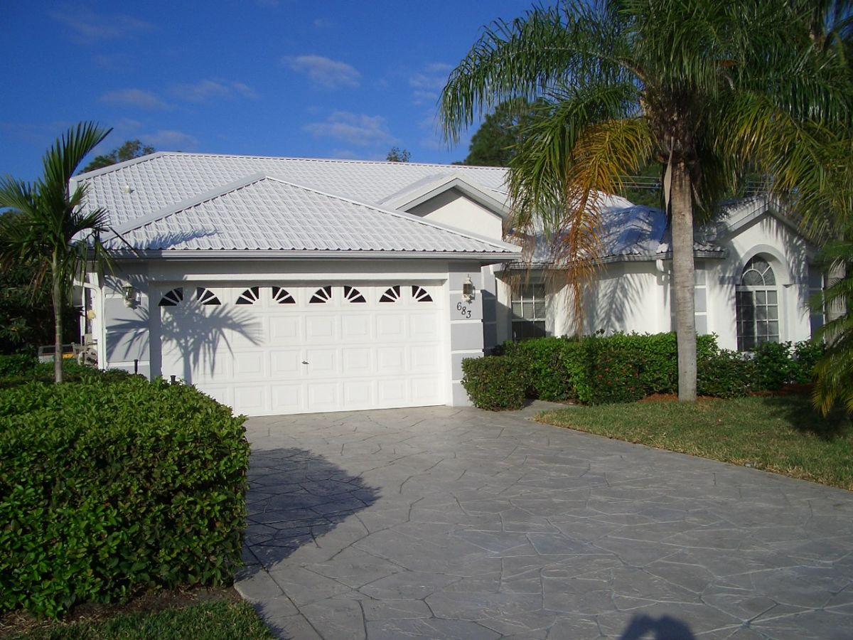 Villa Paradise Garden mit Pool in Naples am Golf von Mexiko, Florida ...