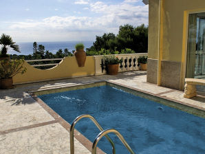 Holiday apartment with private pool and sea view in Portals Nous ID 2211