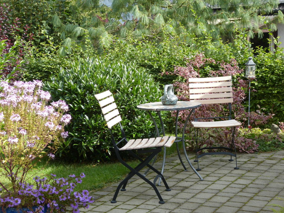 Ein idyllisches Plätzchen im Garten