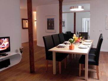 """Apartment """"Elbkontor"""" 4-Zimmer, inkl. W-LAN"""