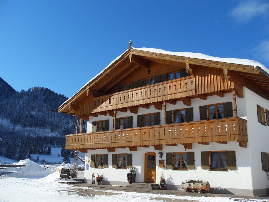 Winter in der Jachenau